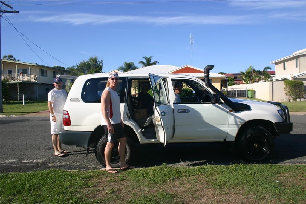 Sunshine Coast dans australie 4X4